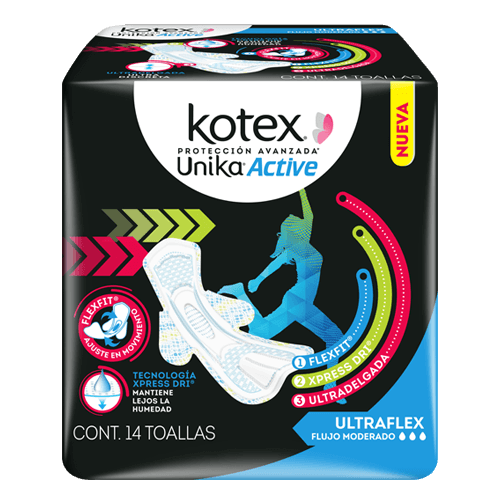 KOTEX UNIKA ACTIVE