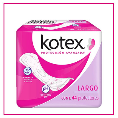Pantipotractores kotex regulares